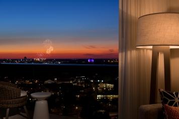 6 - Balcony Fireworks